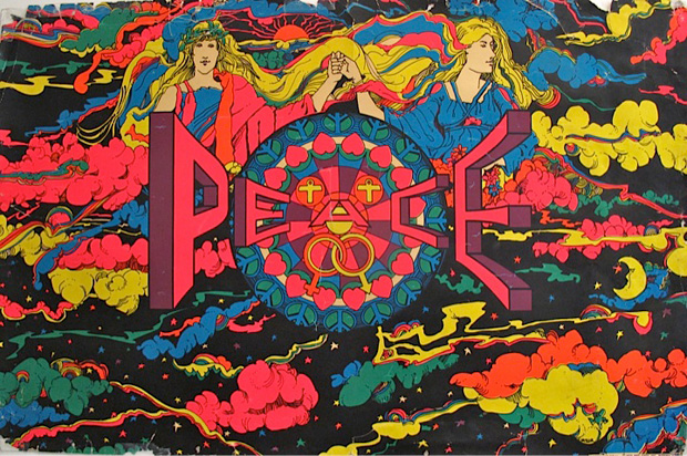 Psychédélisme B-Peace-Celestial-proarts-inc-Medina-Ohio-1970.110x-7123