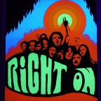B-Right on, HAD Posters, Miami, 1970. 86x59
