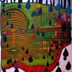 P-Save the rain, Gruener January Glarus, Switzerland. 85x59,3
