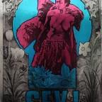 P-Sex, Martin Sharp & KingKong, Big O Posters, England.76,5x50,5