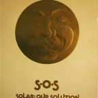 P- Sos Solar our solution, Russell Mc Dougal, Open Window Graphics, San Francisco, 1981. 61x45,5