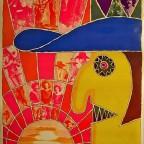 R-Cowboy, John Sposato, Distri Darien House, NY, 1969, 94x62