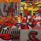 R-Cueco, Musee D'art Moderne de la ville de Paris, Mourlot. 75x49,5