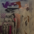 R-Family party, cram posters, 1968.68,8 x 49,8