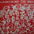 R- Fete populaire du Marais. 57,8 x45,3
