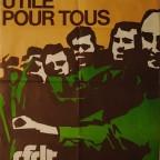 R- Un emploi utile pour tous,cfd, Imp. Art. Liévin, mai 1977.77 x 57