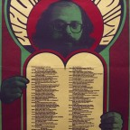 R-Who be kind to-Allen Ginsberg Poem design Wes wilson photo Larry Keenan J.R, Granium Press, San Francisco.77,5x40,5