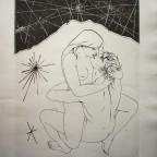 Amoureux, Tremois, 1970, signé au crayon, numéroté 57/400, 57,5x45cm, 250€