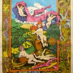 Hera and centaur 1967 Funky Features 74,5x52 - 130€