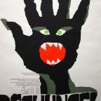 DSCHUNGER Kunert Mark Graf Druck Munchen 1970 84x59 contest german- 150 €