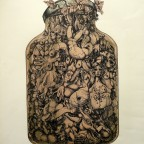 Daran, lithographie érotique, signé au crayon,1970, 65,2x49,3cm, 180€