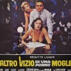 L'altro Vizio di una porno Moglie  Erotic Film Poster with Brigitte Lahaye  65 x 48 cm various creases around the poster 10€