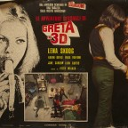 Le avventure sessuali di greta in 3d  Eotic Film Poster with Lena Skoog 67 x 47 cm lot of creases and torn around the poster 10 €