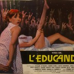 L'educanda  Erotic Film poster with Patrizia Gori  From italy 65x45 fold and creases in the middle 15 €