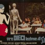 Ore Dieci lezione di Sesso  Erotic Film Poster 50 x 65 cm 5 €