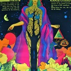 B- Wisdom, John Brewer, The third eye inc, NYC, 1971. 84x54,4