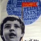P-Enfant et bulle de paix, 1977. 103,5x66,8