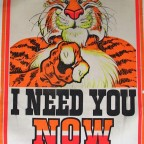 R-I need you now, Humble oil & Relining company, Personality Posters, 1968. 104x 78,5