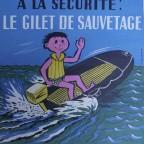 Prévention Plaisance - Illustration par R. Besserve , Lot de deux sérigraphies, 54x41cm, 15€