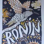 Sérigraphie Euro Tour 2007 de Ronin - Illustration Gaspard, 65x27cm, 30€