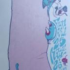 Plin Tube presents : Shivers'rd Shakes - Sérigraphie - 59x21cm, 30€