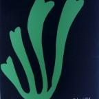 Le Cygne - Henri Matisse - Sérigraphie signée dans la planche - repro, 1953, 47x40cm, 20€