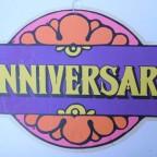Bannière vintage Anniversaire/ Anniversary 70's, Canada, 20€