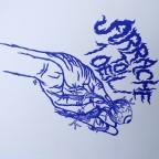 Arrache toi 1 oeil - Sérigraphie - 32x24cm, 15€