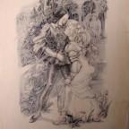 Lithographie érotique de Balliver - Années 30, 29x22cm, 10€