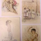 Livre Histoire d'amour de la rose de sable de Henry Montherlant 3 lithographies d'Edouard Chimot  NON COMPLET: Texte de la page 81 à 82, 87 à 88 et 163 à 166 21,9x16,9, 25€
